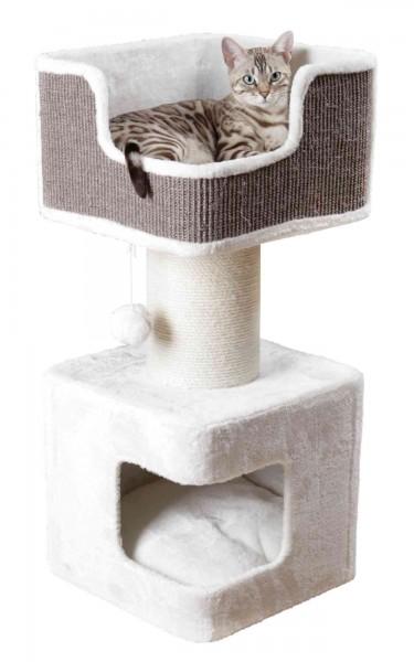 Trixie Kratzbaum XXL Ava 86 cm Weiß