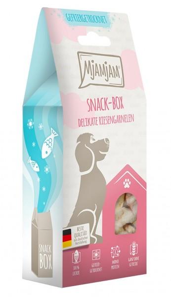 MjAMjAM Snackbox Hund - Riesengarnelen - gefriergetrocknet