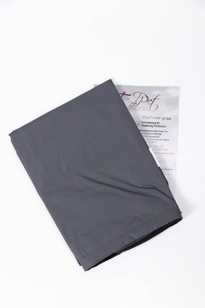 TrendPet VitaCover Grau wasserabweisend passend VitaMedog (110x80cm)