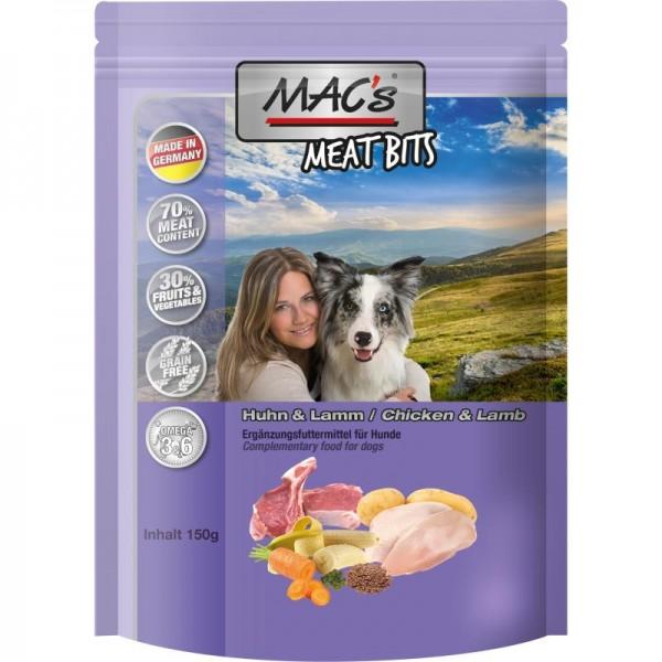 MAC's Dog Meat Bits Snack mit Huhn & Lamm