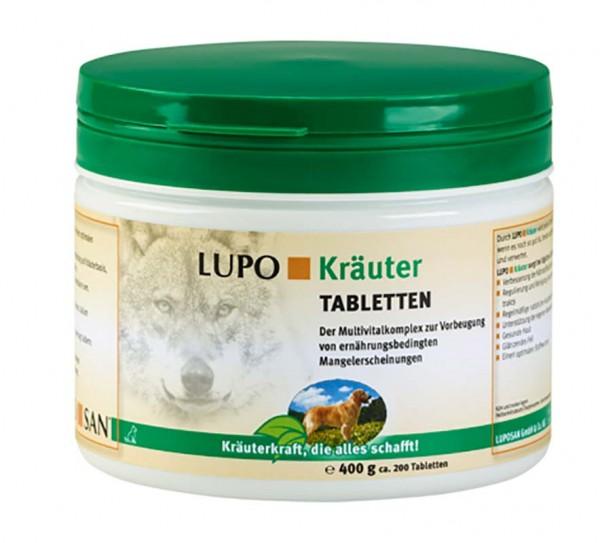 LUPOSAN Kräuter Tabletten - 400 g