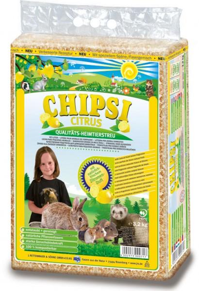 Chipsi Citrus Heimtierstreu - 60 L (3,2kg)