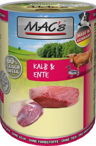 MAC's Dog mit Kalb & Ente (getreidefrei)