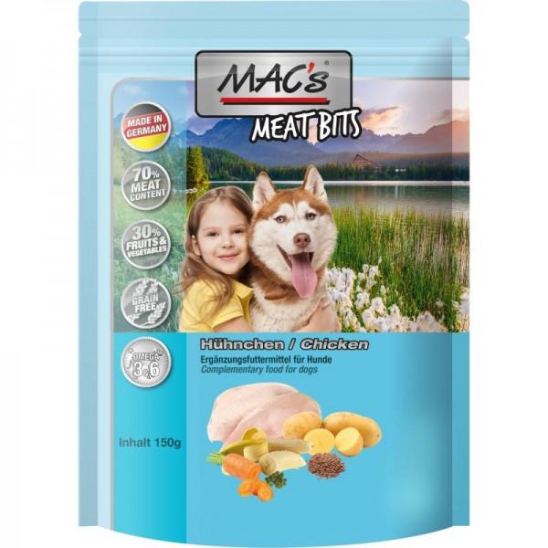MAC's Dog Meat Bits Snack mit Geflügel 9x120g