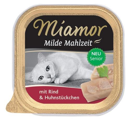 MIAMOR Milde Mahlzeit Senior mit Rind - 100g