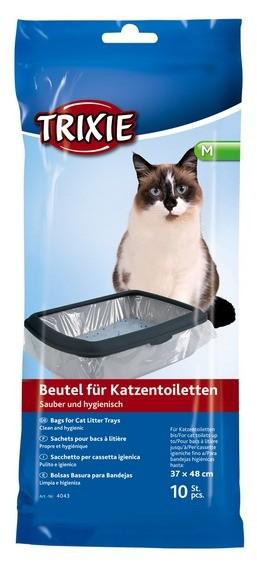 Trixie Beutel für Katzentoiletten M - 10 Stück