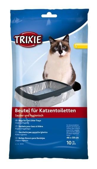 Trixie Beutel für Katzentoiletten L - 10 Stück