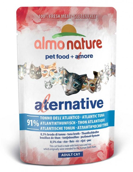 Almo Nature Katzenfutter HFC Alternative 91% Atlantikthunfisch