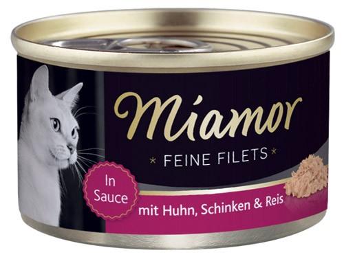 MIAMOR Feine Filets in Jelly mit Huhn & Schinken - 100g