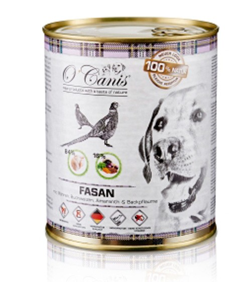 O'Canis Hundefutter Nassfutter mit Fasan & Möhre