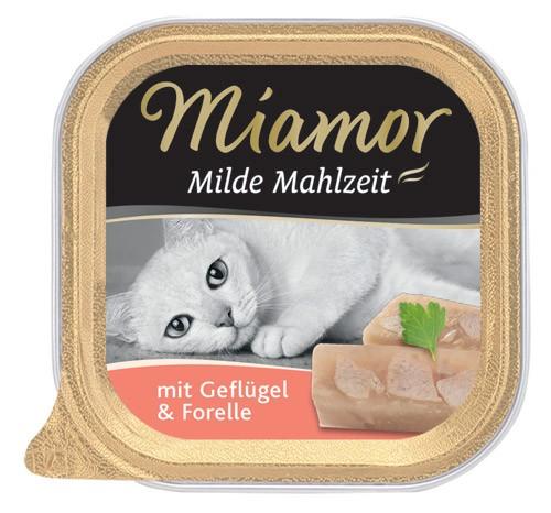 MIAMOR Milde Mahlzeit mit Geflügel & Forelle - 100g