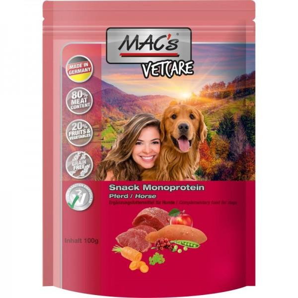 MAC's Dog Vetcare Monoprotein Snack mit Pferd