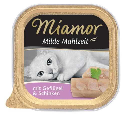 MIAMOR Milde Mahlzeit mit Geflügel & Schinken - 100g