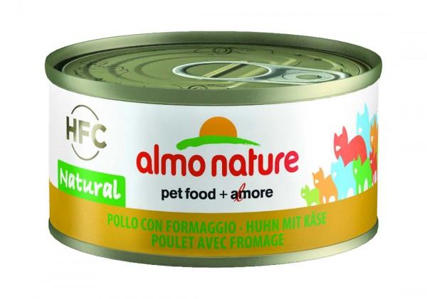 Almo Nature Katzenfutter HFC Natural mit Huhn & Käse