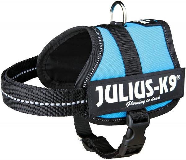 Julius-K9 Powergeschirr 3/XL 82-118cm aquamarin Trixie