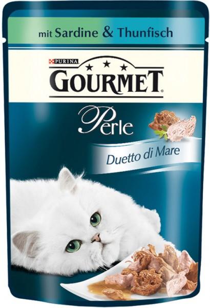 Gourmet Perle - 85g Sardine & Thunfisch