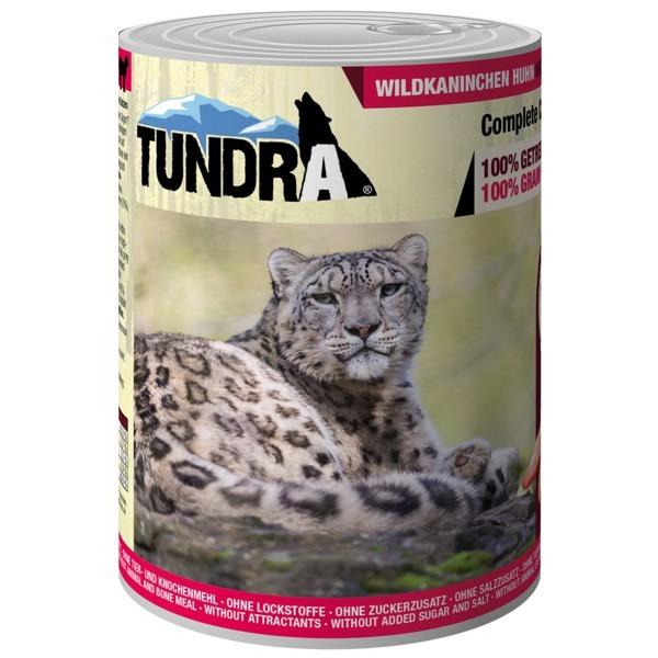 Tundra Katzenfutter Wildkaninchen & Huhn, Nassfutter
