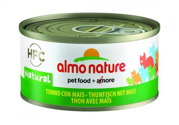 Almo Nature Katzenfutter HFC Natural mit Thunfisch & Mais