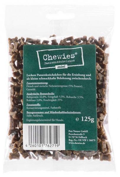 Chewies Mini Pansenknöchelchen - 125g