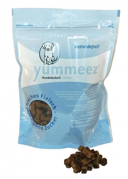 Yummeez Hundeleckerli mit Lachs (getreidefrei) - 175g