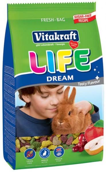 Vitakraft Life Dream, 600 g Zwergkaninchen