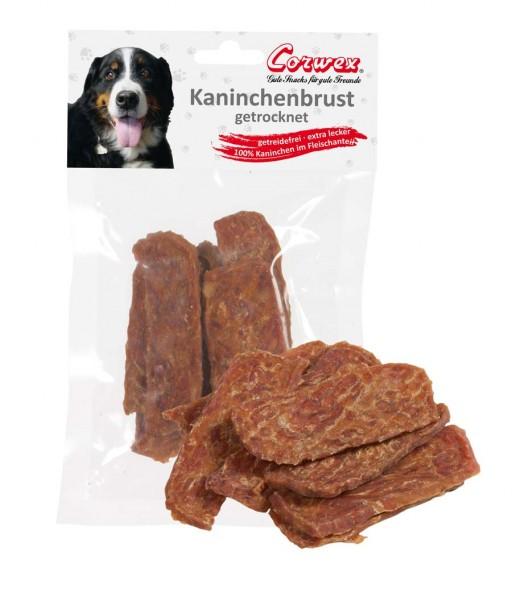 Corwex Hundesnack Kaninchenbrust getrocknet