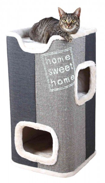 Trixie Kratzbaum Cat Tower Jorge 78cm Grau/Anthrazit