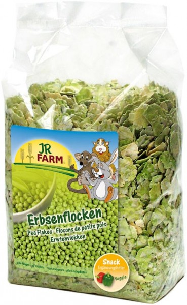 JR Farm Erbsenflocken - 1kg