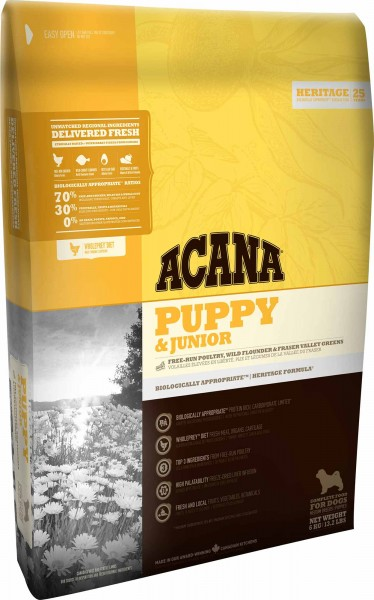 ACANA Hundefutter Heritage Puppy & Junior