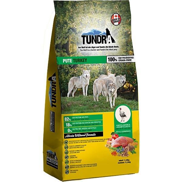 Tundra Trockenfutter Hundefutter Pute - getreidefrei