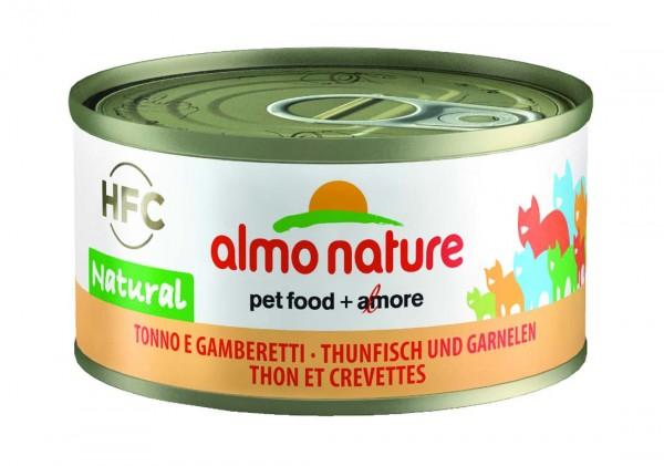 Almo Nature Katzenfutter HFC Natural mit Thunfisch & Garnelen