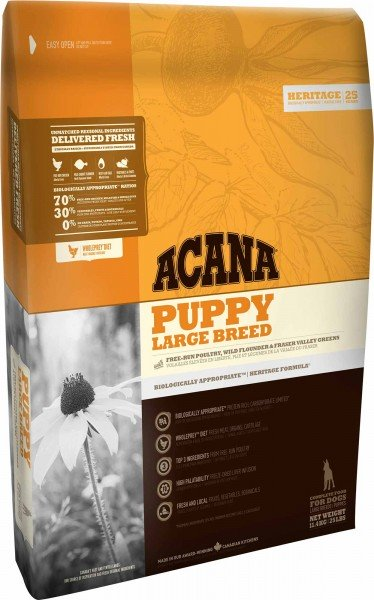 ACANA Hundefutter Heritage Puppy Large Breed