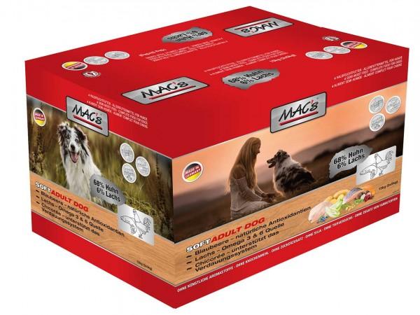 MAC's Soft Adult mit Huhn - Halbfeuchtfutter - Getreidefrei