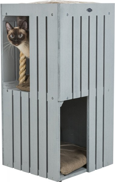 Trixie BE NORDIC Cat Tower Juna 77 cm grau