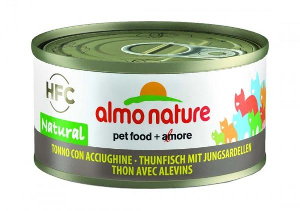 Almo Nature Katzenfutter HFC Natural mit Thunfisch & Jungsardellen