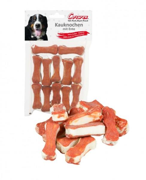Corwex Hundesnack 12 x 5cm Kauknochen mit Ente