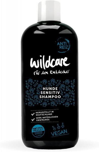 Wildcare 69010 Sensitiv Shampoo ANTI REIZ, 100% VEGAN und zertifizierte Tierpflege, Bio-Rohstoffe