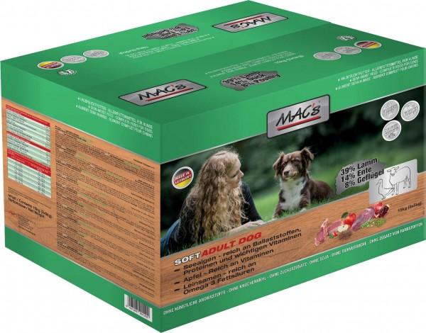 MAC's Soft Adult mit Lamm - Halbfeuchtfutter - Getreidefrei