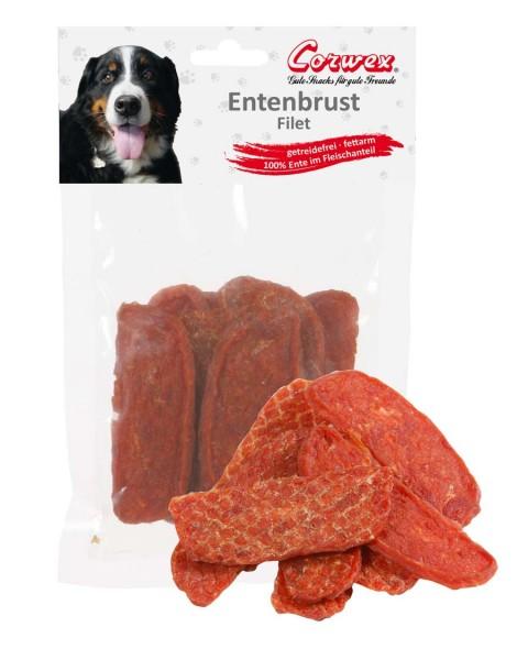 Corwex Hundesnack Entenbrust getrocknet