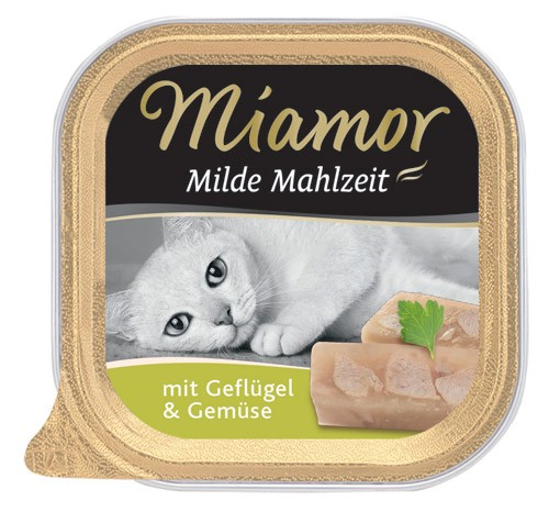 MIAMOR Milde Mahlzeit mit Geflügel & Gemüse - 100g