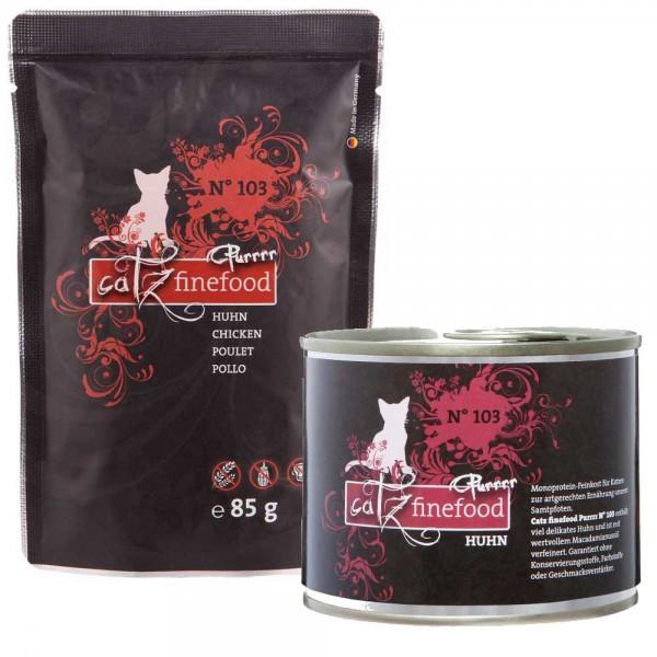 Catz finefood Purrrr No.103 mit Huhn