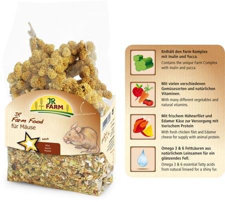 JR Farm Food Maus Adult - 500g