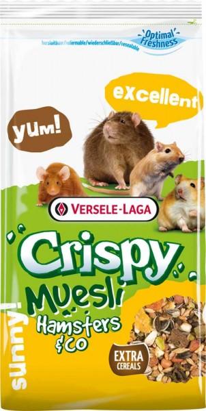 Versele Laga Crispy Müsli - Hamster und Co 1kg