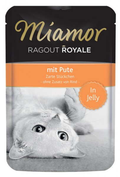 MIAMOR Ragout Royale in Jelly mit Pute - 100g