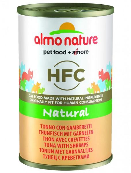 Almo Nature Katzenfutter HFC Natural mit Thunfisch und Garnelen