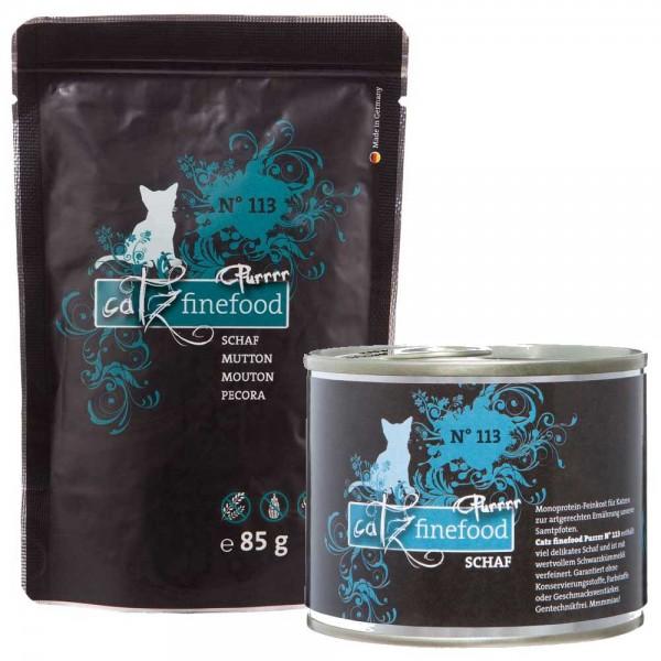 Catz finefood Purrrr No.113 mit Schaf