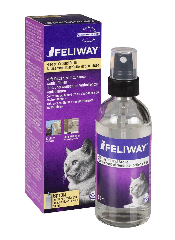 feliway umgebungsspray 60 ml pflege hygieneartikel katze brands4pets. Black Bedroom Furniture Sets. Home Design Ideas