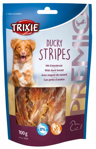 Trixie Premio Stripes Ducky 100 g