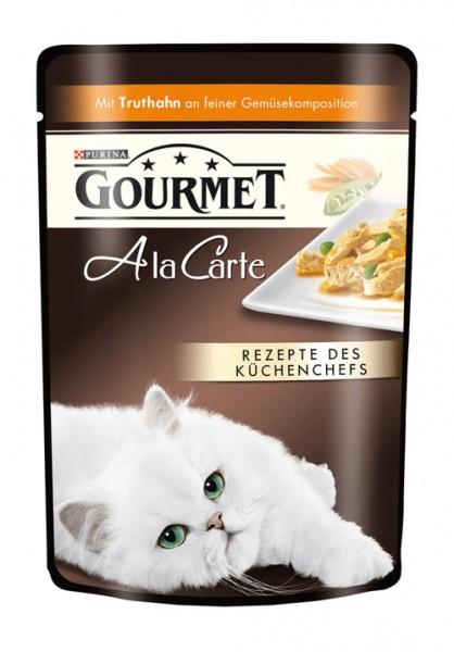 Gourmet A La Carte - 85g Truthahn & Gemüse