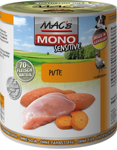 MAC's Dog Mono Sensitive mit Pute (getreidefrei)